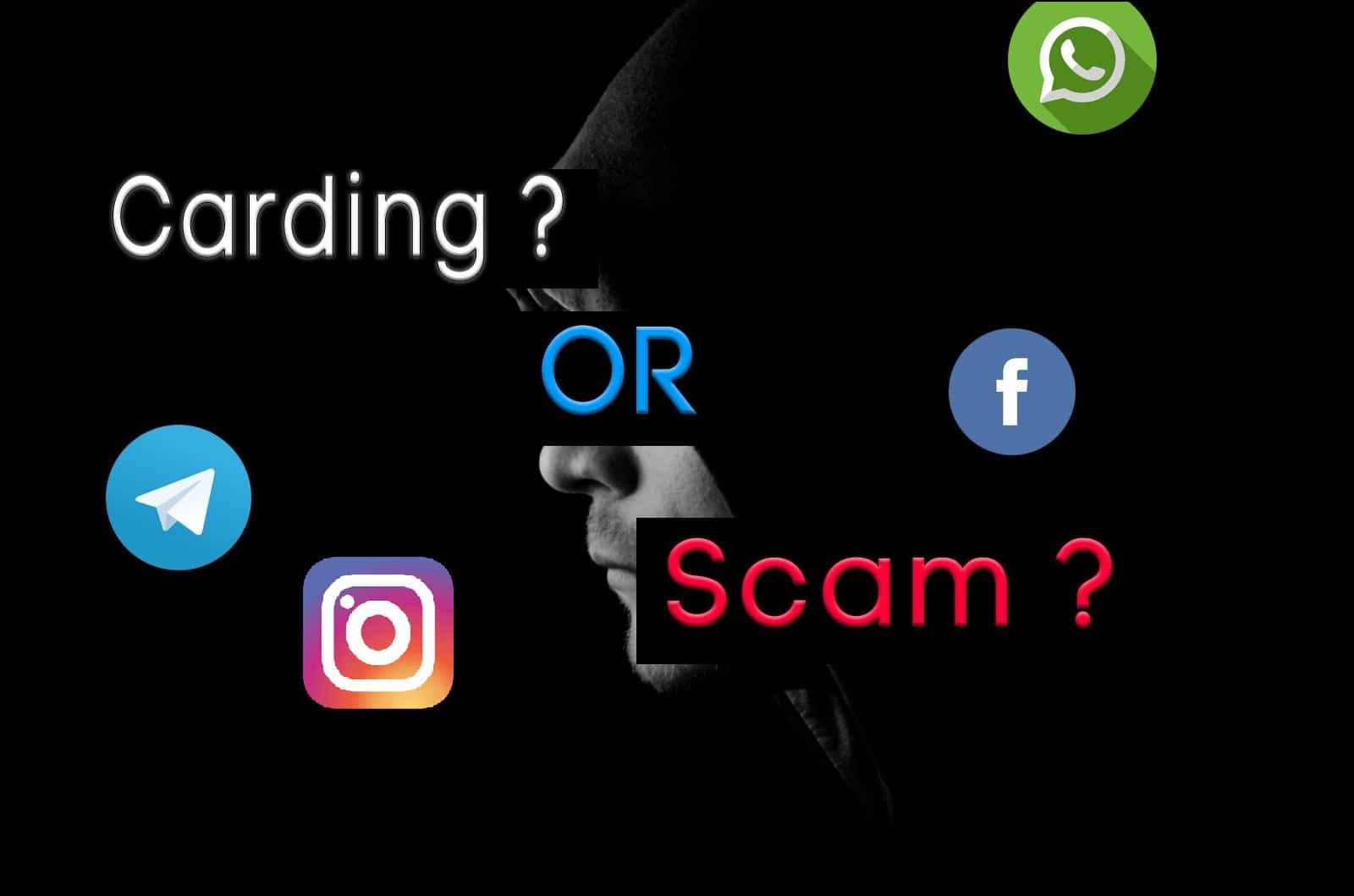 Beware From Carding Products and Scammers Carding is a scam