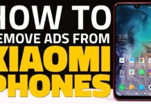 remove ads in Xiaomi phones