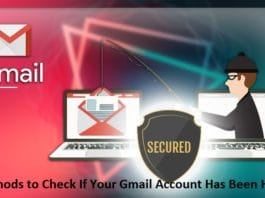 Check Gmail Account Security